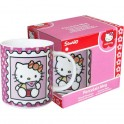 TAZA DE CERAMICA CON CAJA HELLO KITTY  CARTA