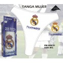 TANGA MUJER REAL MADRID, COLOR BLANCO, TALLA L