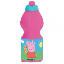 BOTELLA CANTIMPLORA SPORT PEPPA PIG COLOR FUCSIA