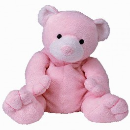PELUCHE TY OSO ROSA PUDDER PLUFFIES TY